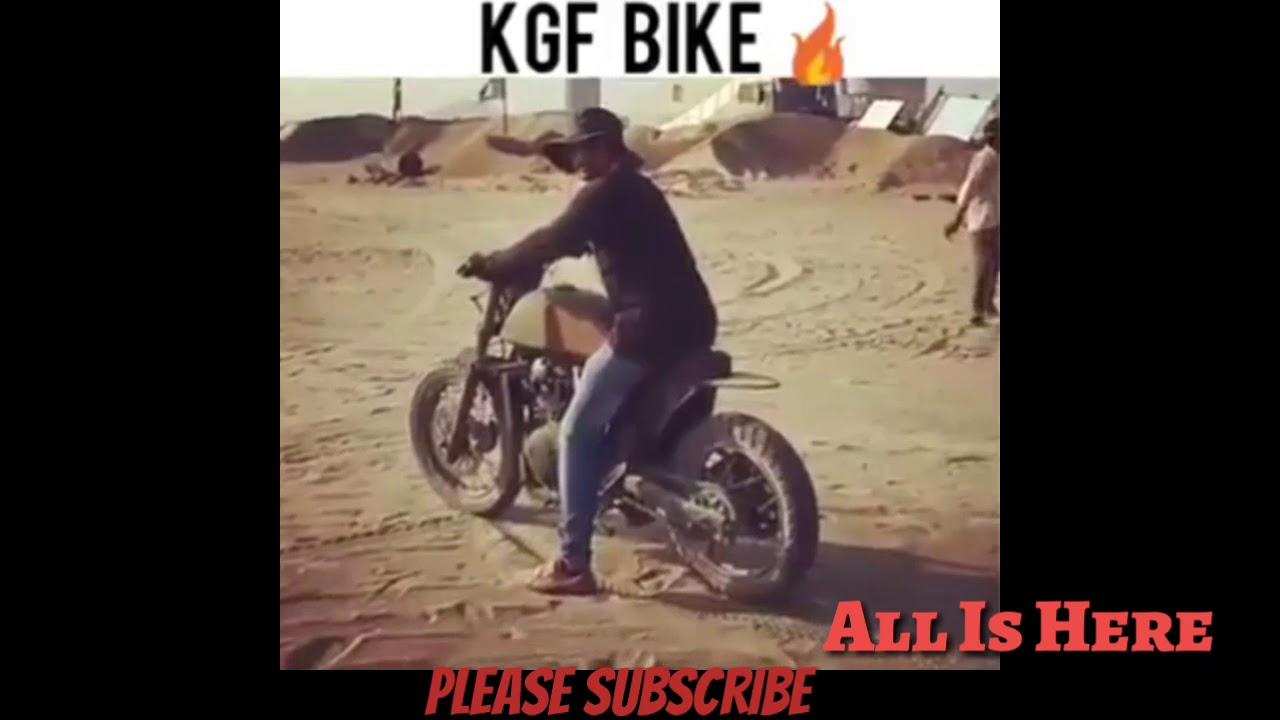 Rocky Kgf Bike Ll Full View Ll Kgf Movie Youtube