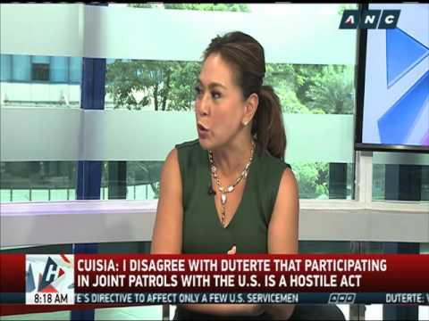 Cuisia: China's seizure of PH territory a hostile act, not joint patrols