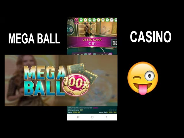 🆕 Mega Ball Casino 🏼👉 Mega Ball /  Live Casino