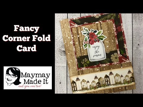 Fancy Fold Corner Fold Card