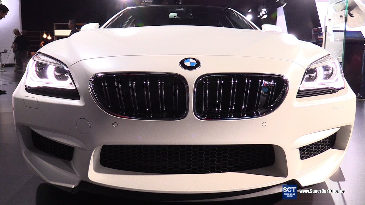 2017 bmw m6 gran coupe exterior and interior walkaround - Bmw m6 gran coupe interior ...