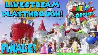 Scraping What's Left. - Livestream | Super Mario Odyssey Stream Play #06: Finale! + Smash