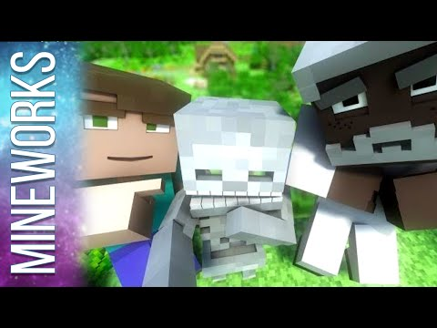 "♫ ""Human Instead"" - An Original Minecraft Song Animation- Official Music Video"