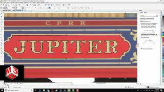 How to prepare a texture from zero in Corel Draw