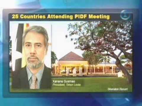 25 Countries Attending Pacific Island Development Forum (PIDF) Meeting (Fiji TV News)
