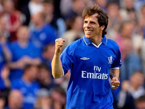 Legends Of Chelsea - Gianfranco Zola