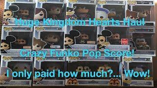 Funko Pop Huge Kingdom Hearts Haul!