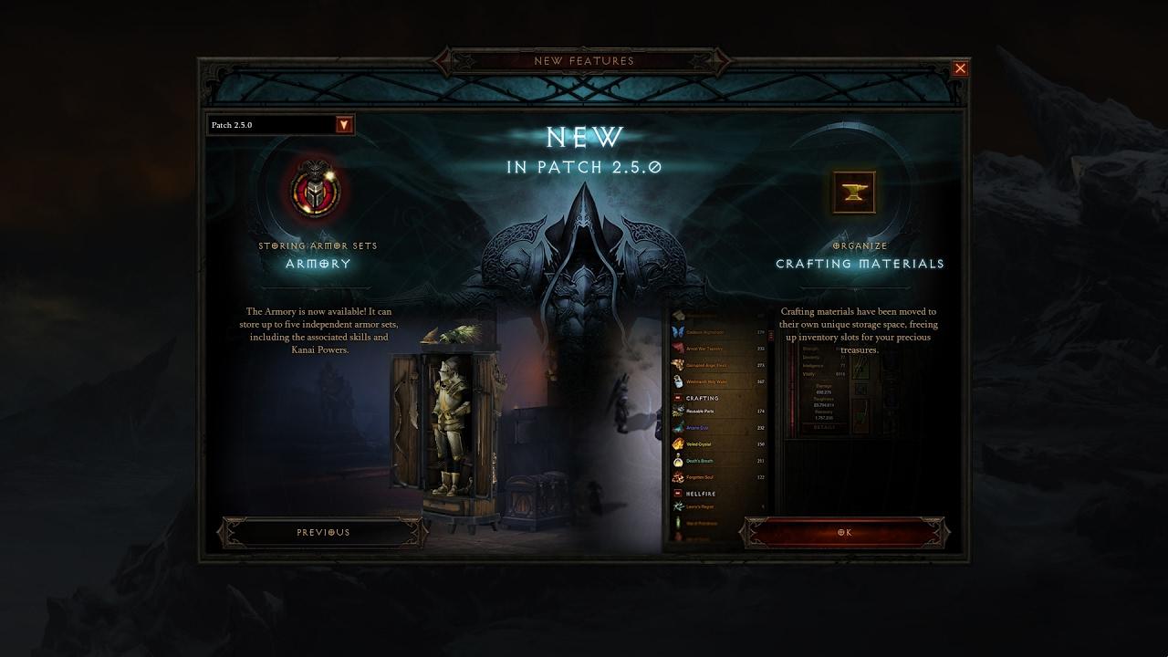 Diablo III - Patch 2.5.0 in 2 minutes - YouTube