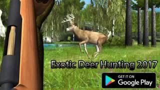 Exotic Deer Hunting 2017