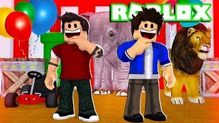 ROBLOX-CIRCUS FULL OF JOKES and CLOWNS! (The Obby Circus!)