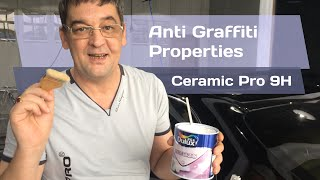 CERAMIC PRO: Anti Graffiti/Anti Vandalism properties FUC* TEST