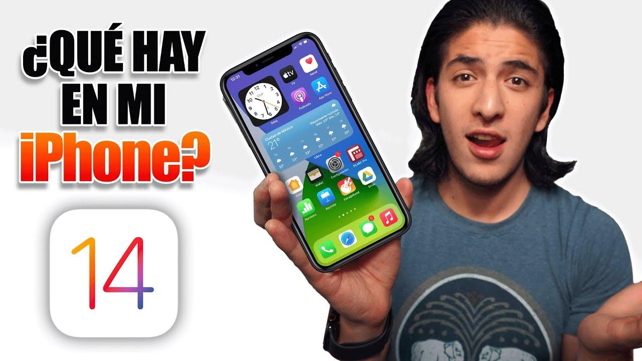 ¿Qué hay en mi iPHONE con iOS 14?