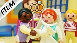 Playmobil Film deutsch EMMA & MALIKS HOCHZEIT IN KITA - Sind sie zu jung dafur Familie ...