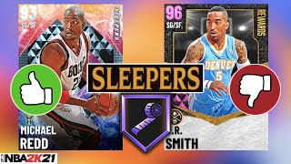 NEW SLEEPERS CARDS IN NBA 2K21 MyTEAM! IS PINK DIAMOND JR SMITH WORTH LOCKING IN?