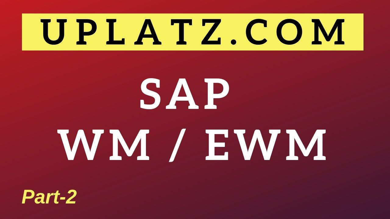 SAP EWM Training & Certification | SAP EWM Online Course
