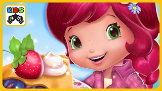 Земляничка на Кулинарной выставке в игре для девочек Strawberry Shortcake Food Fair от Budge Studios