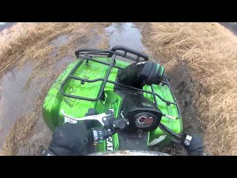 2013 arctic cat 700 mud pro test drive