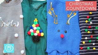 Christmas Jumper Ideas Christmas Countdown With Channel Mum Youtube