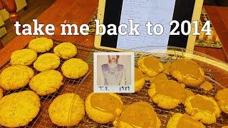 making taylor swift&#39s chai tea cookies!  Cooking Week