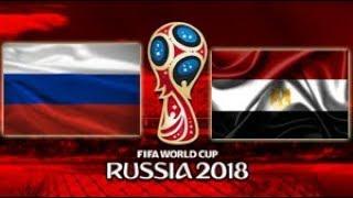 Rússia vs Egito - 2018 FIFA World Cup Russia