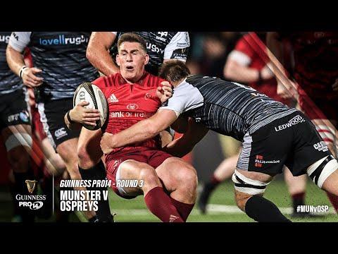 Guinness PRO14 Round 3 Highlights: Munster Rugby v Ospreys