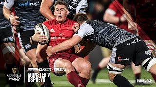 Guinness PRO14 Round 3 Highlights: Munster Rugby v Ospreys