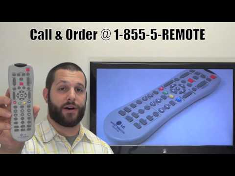 LG 105201M Master Service Remote Control - www.ReplacementRemotes.com