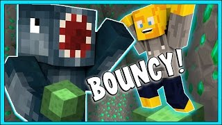 Minecraft - BOUNCY FUN! - Parkour Paradise Custom Map [2] W/AshDubh