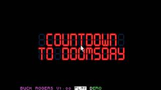 Introduction to Buck Rogers - Countdown to Doomsday (GoldBox)