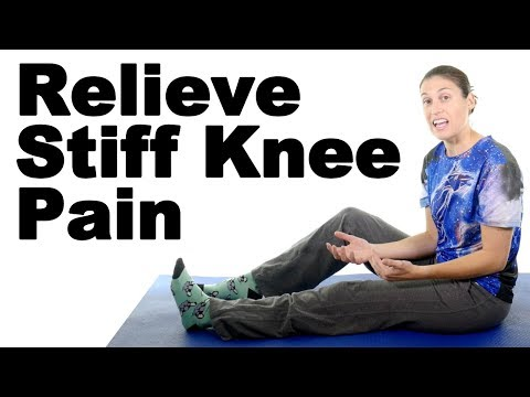 7 Stiff Knee Stretches Ask Doctor Jo