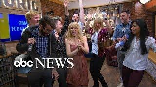 Kylie Minogue surprises her super-fans live on 'GMA'