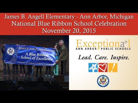 Angell Elementary School | Blue Ribbon Schools Celebration | Ann Arbor, MI