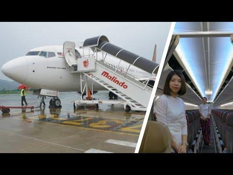 Trip Report Langkawi - Kuala Lumpur | Malindo Air OD 2203 | B737-800 | Broewnis Travel