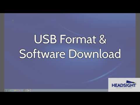 USB Format & Software Download