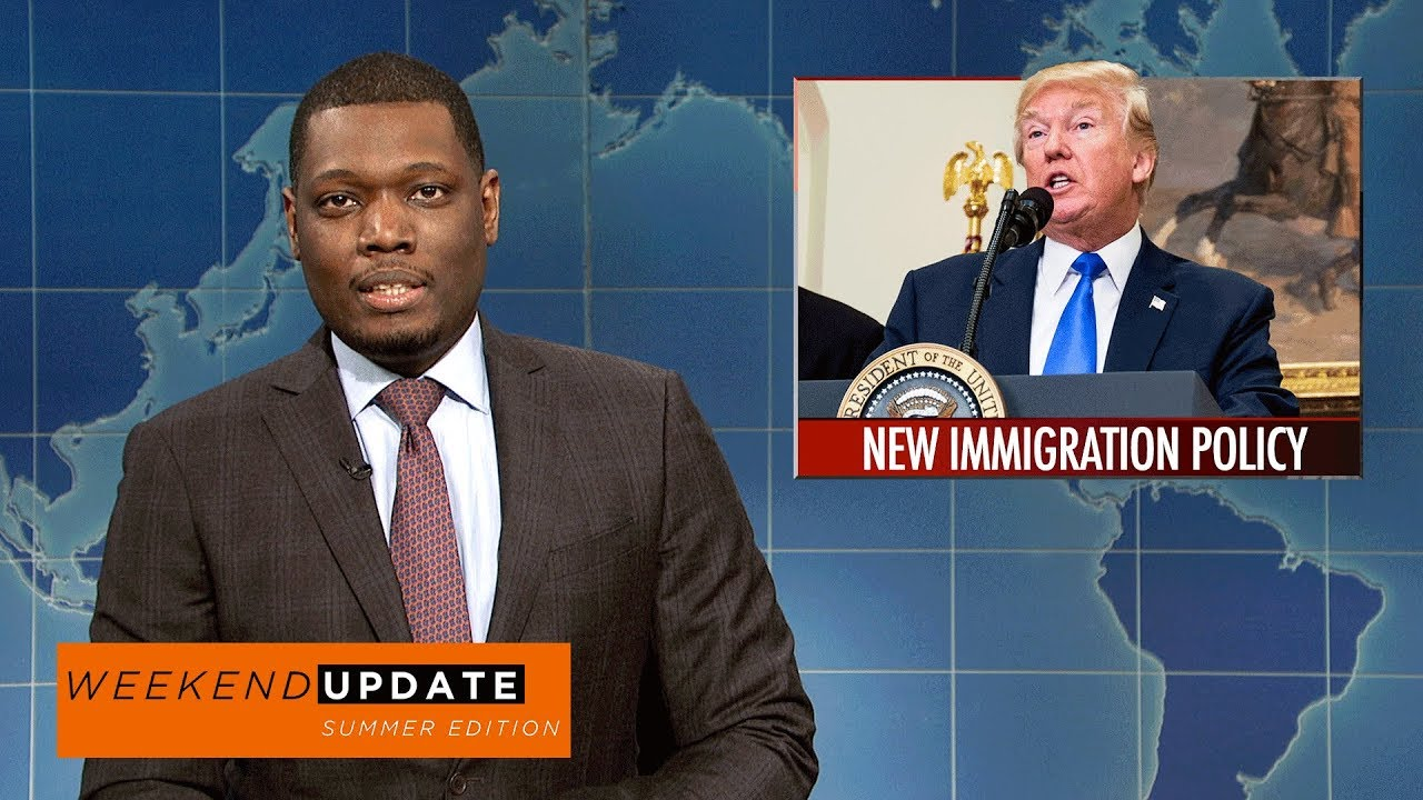 Weekend Update on White House Staffing Changes - SNL - YouTube