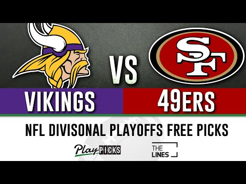Vikings Vs 49ers - Divisional Round Playoffs | NFL Sports Betting Free Picks