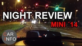 Head Up display by night (MINI 2014 model)