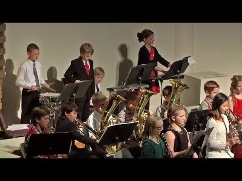 Santiam Christian Schools 2015 Christmas Program - 5th & 6th Grade Band