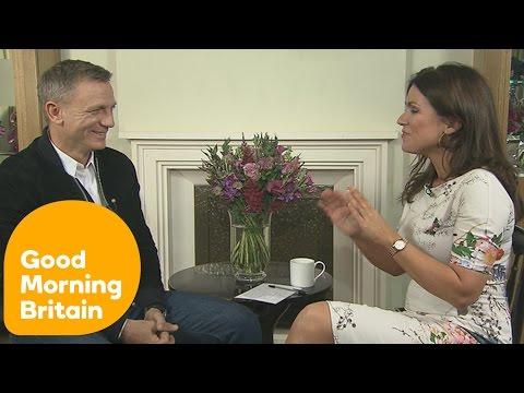 Daniel Craig's Full Interview With Susanna Reid On Spectre & Playing Bond   Good Morning Britain