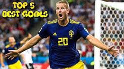 Ola Toivonen TOP 5 Best Goals For The Swedish Nationalteam! •2007-2018•