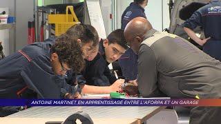 Yvelines   Antoine Martinet en apprentissage entre l'Aforpa et un garage