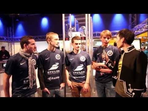 Mad Catz at DreamHack Winter 2012 - Epsilon eSports (Battlefield 3 Winners) Interview