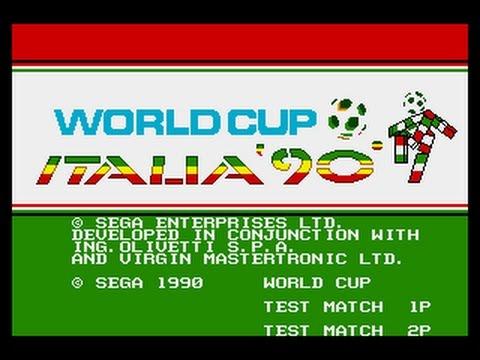 Mega Drive Longplay [436] World Cup Italia 90