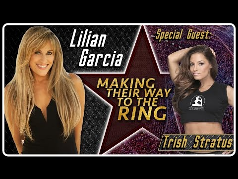 Trish Stratus Interview | AfterBuzz TV's Lilian Garcia: Making Their Way To The Ring