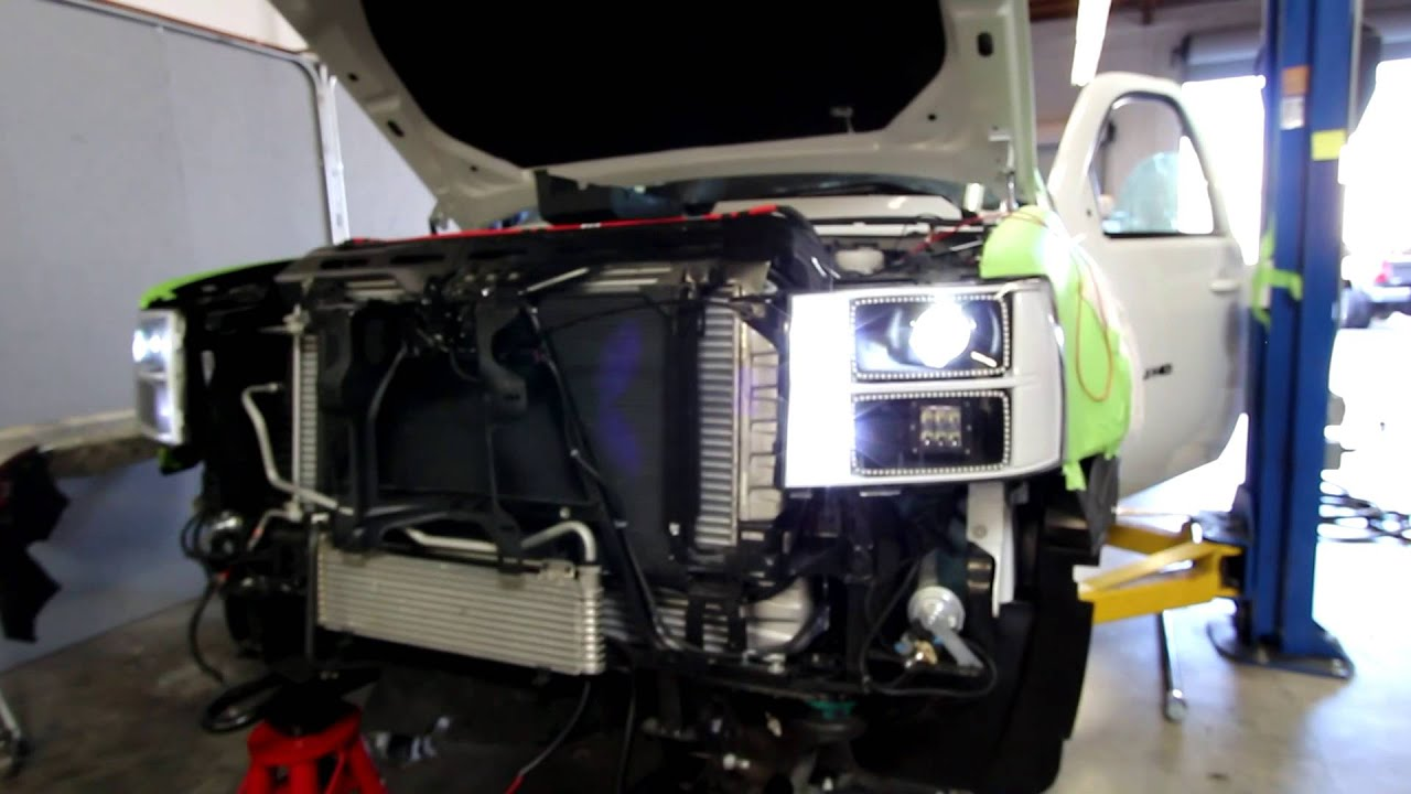 Sema Gmc Build Plain N Simple Head Lights Youtube