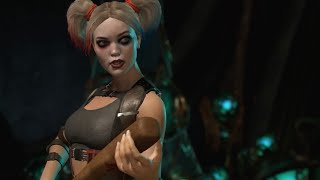 17 Minutes of Injustice 2 Harley Quinn, Wonder Woman and Blue Beetle Gameplay - Gamescom 2016