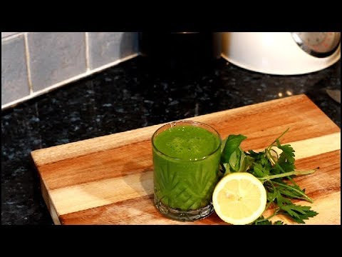 FROZEN FRUITS SMOOTHIE WITH SPINACH - Chef Ricardo Juice Bar