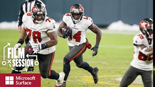 Ronde Barber Breaks Down Key Plays From NFC Championship | Film Session