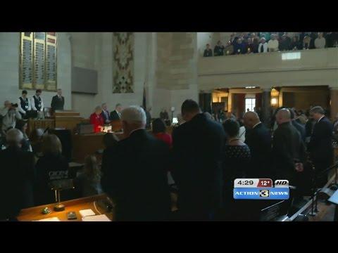 105th legislature's 1st day