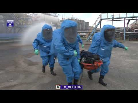 Учебная тревога на территории ОАО «Нафтан».